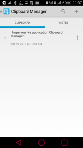 Clipboard Manager screenshot