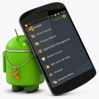 smartphone with droid